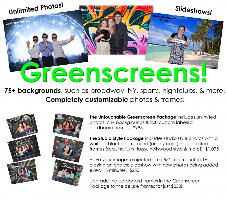 Toms River NJ Greenscreen rental